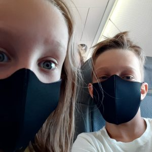 Pack de 8 masques confort enfants